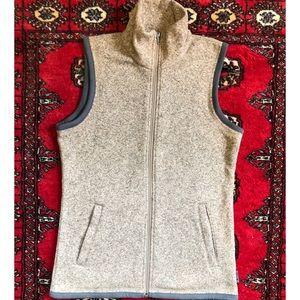 NWOT EMS - Fleece / Woven Vest - Oatmeal